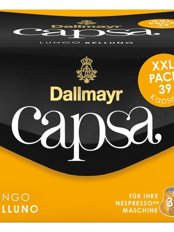 Dallmayr Lungo Belluno кафе капсули XXL