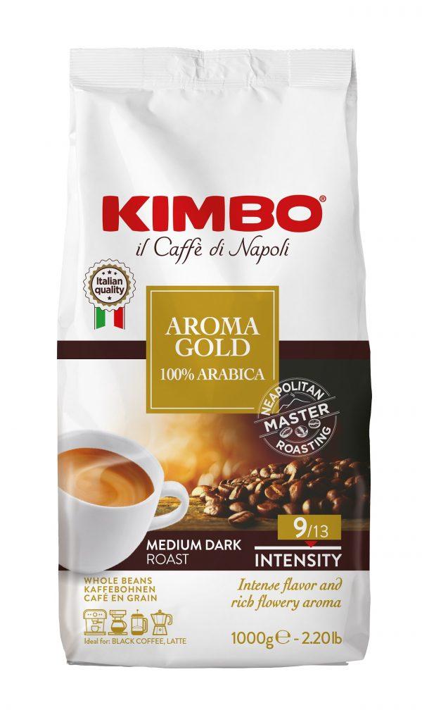 Kimbo Aroma Gold 100% Arabica 1 кг. кафе на зърна
