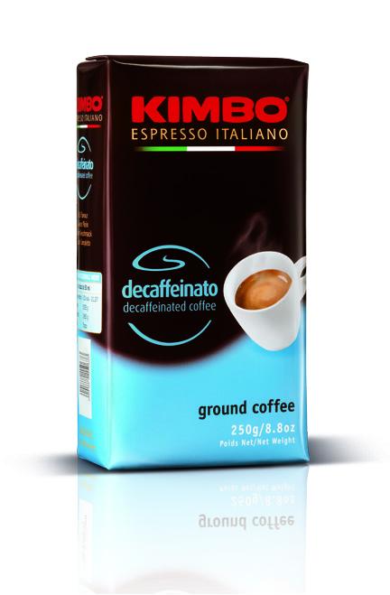 Kimbo Decaffeinato 250 гр. мляно кафе - вакуум