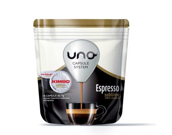 "Kimbo Кафе Капсули ""Uno"" - Sublime 100% Арабика"