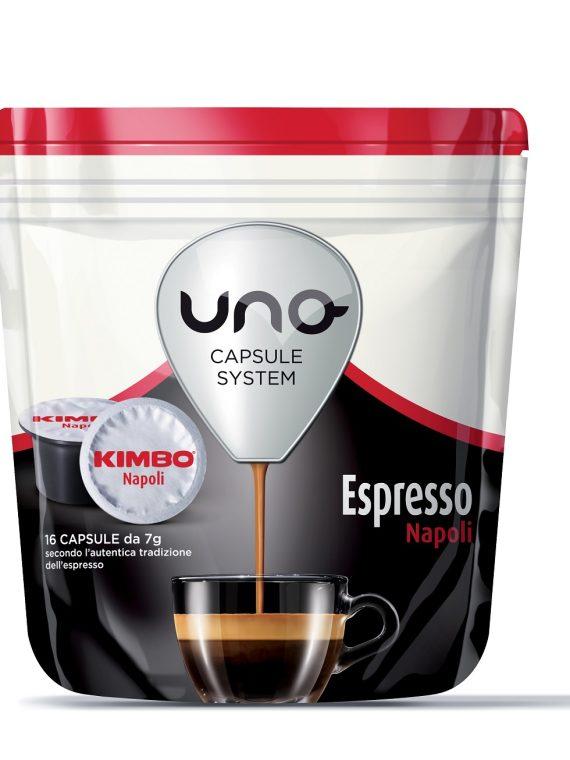 """Kimbo Кафе Капсули """"Uno"""" - Espresso Napoli 16 бр."""