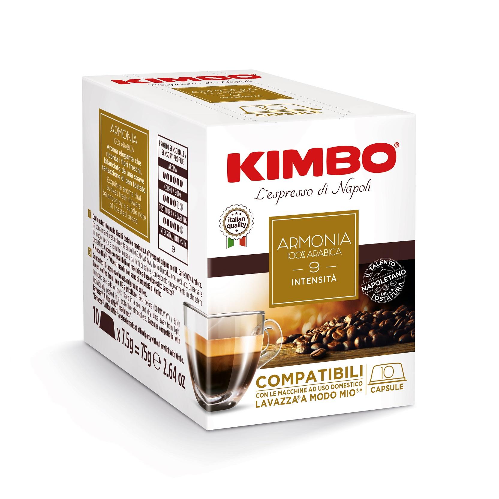 "Kimbo Кафе Капсули ""A Modo Mio"" Armonia"