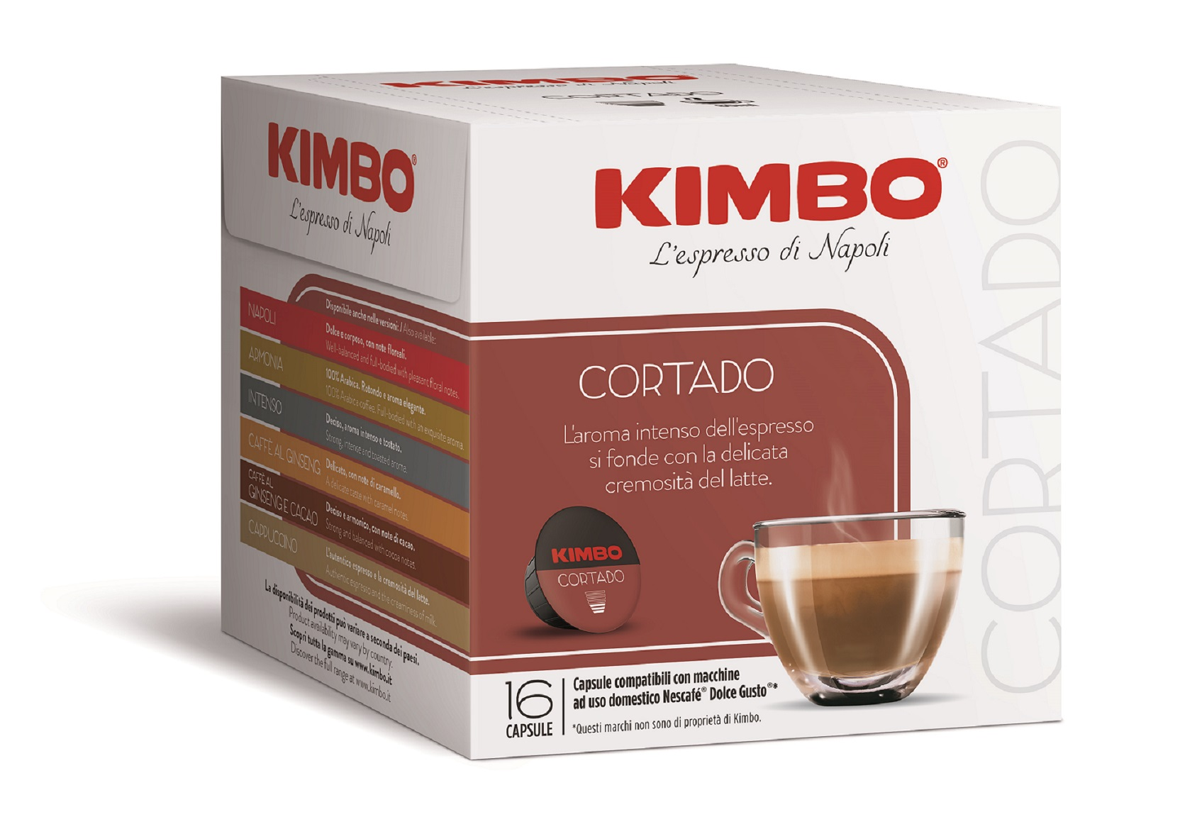 Kimbo Кафе Капсули Cortado