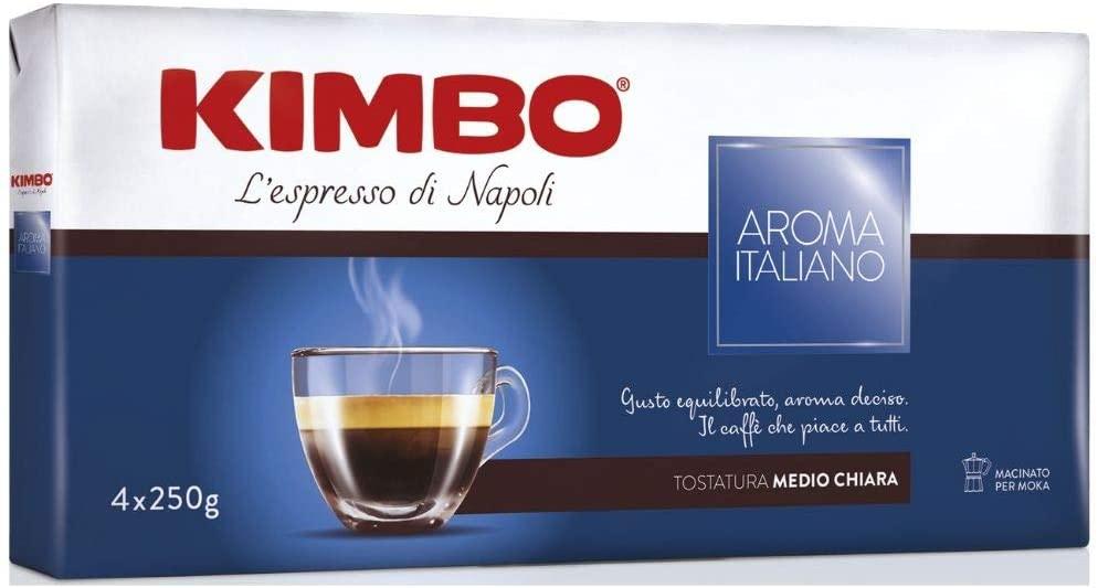 Kimbo Aroma Italiano пакет 4x250 гр. мляно кафе