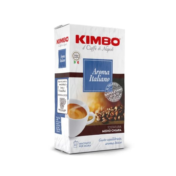 Kimbo Aroma Italiano 250 гр. мляно кафе