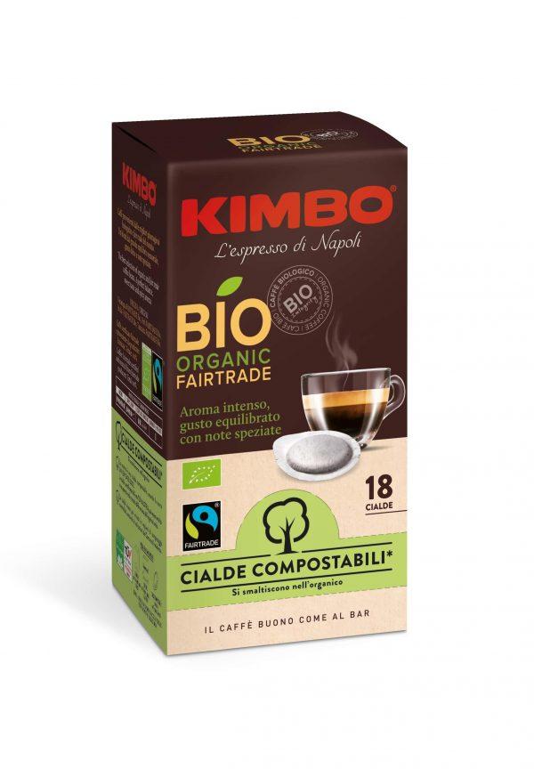 Kimbo Bio Organic Кафе Дози 18 бр.