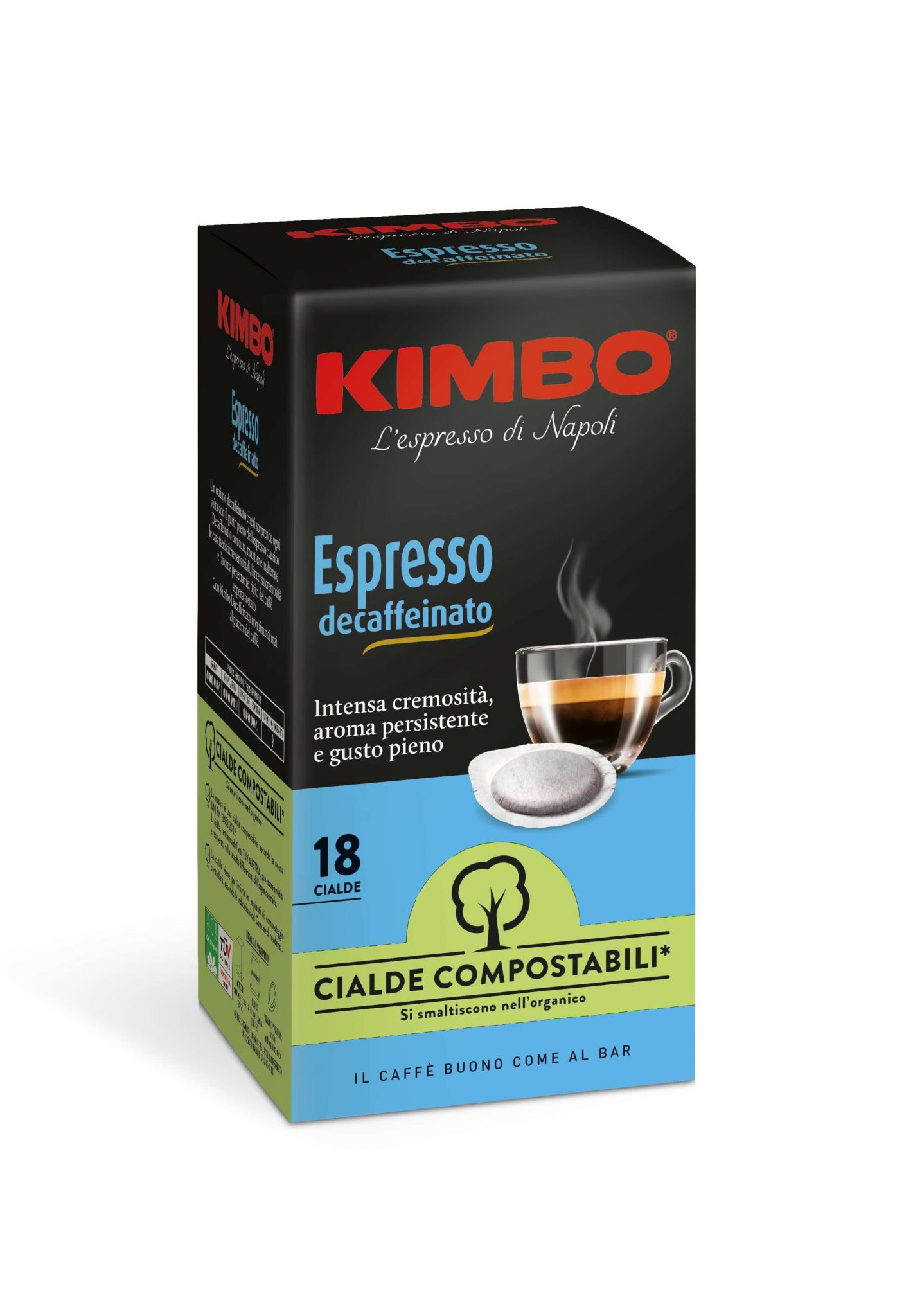 Kimbo Decaffeinato Кафе Дози 18 бр.
