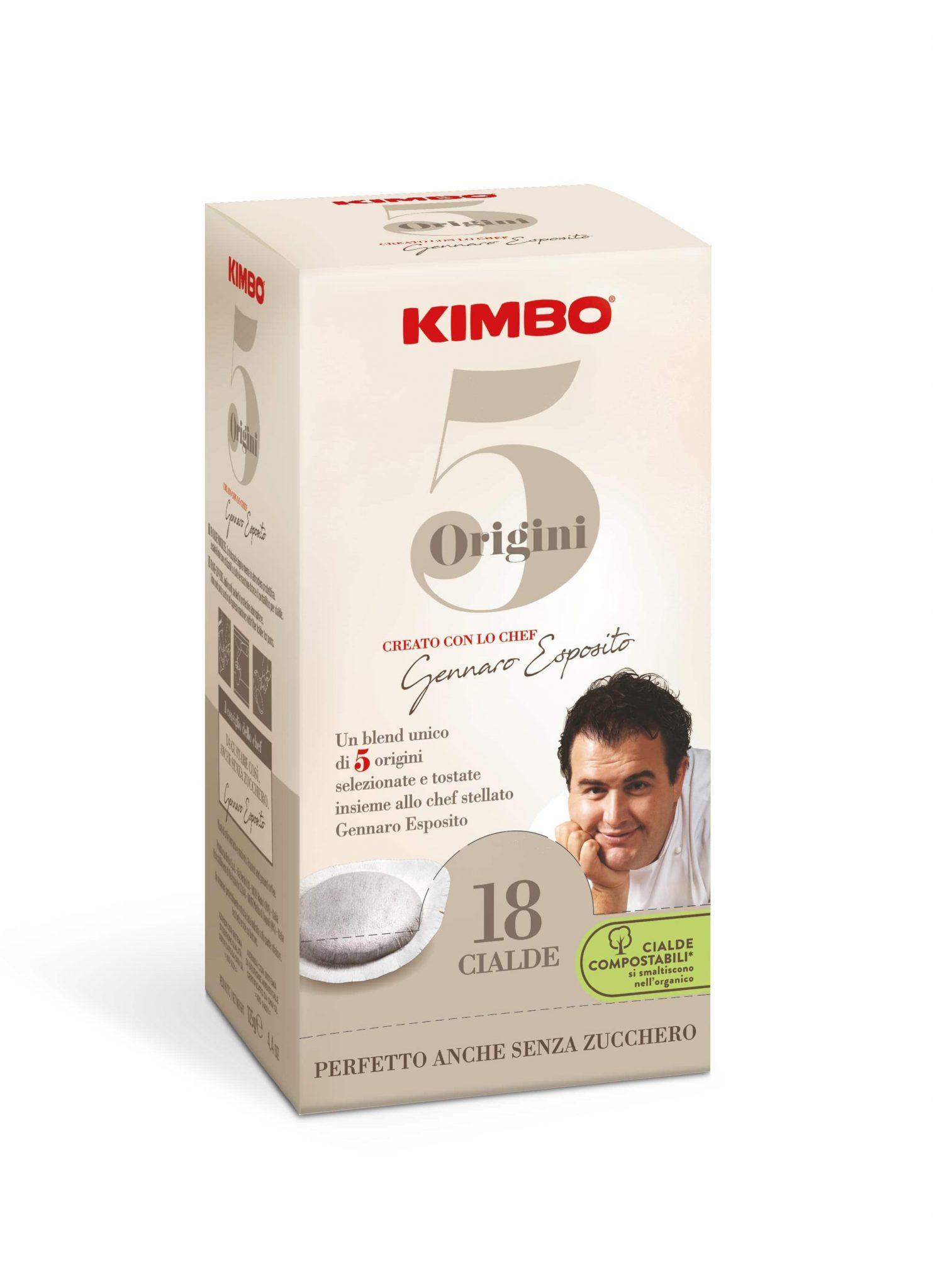Kimbo 5 Origini 100% Арабика Кафе Дози 18 бр.