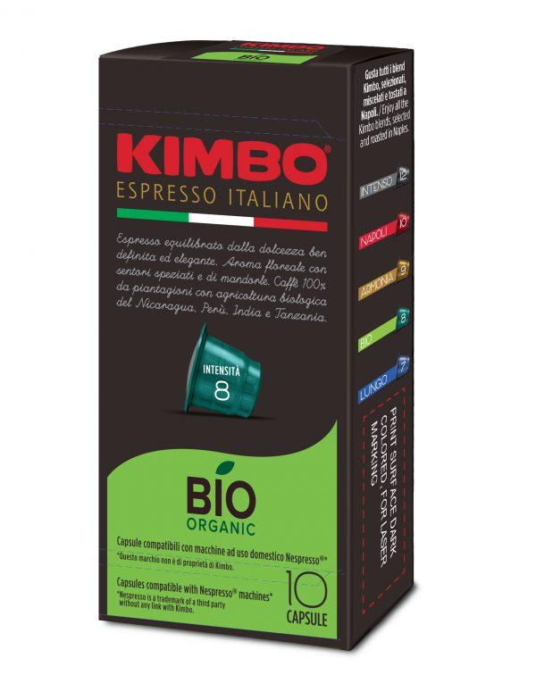 Kimbo Кафе Капсули Bio Organic NESPRESSO system 10 бр.