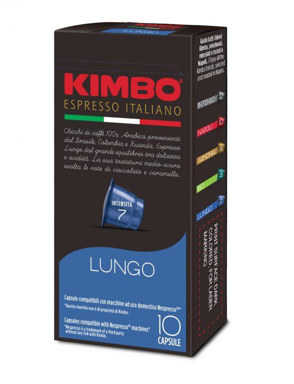 Kimbo Кафе Капсули Lungo NESPRESSO system 10 бр.